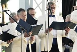 Video Helsinki Finnish Club Choir in ANFI