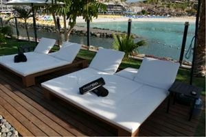 Maroa Club de Mar Double Sun Lounger