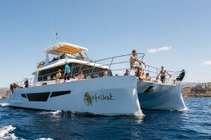 Afrikat Catamaran Boat